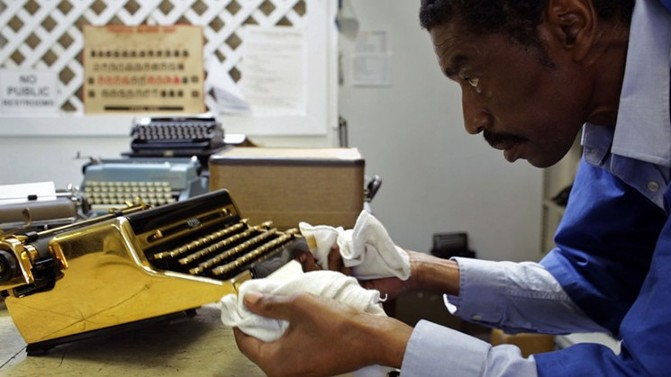 Kenneth Alexander in the documentary film California Typewriter