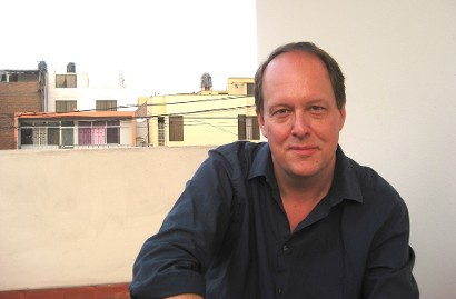 Writer Gregory W. Beaubien, author of novel 'Shadows the Sizes of Cities,' a thriller set in Morocco