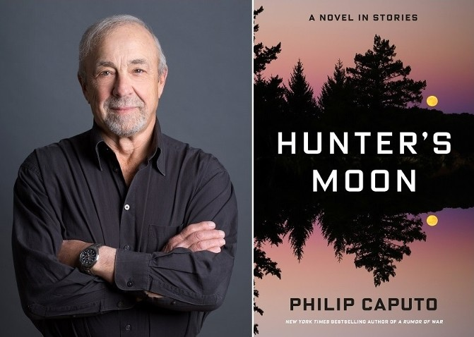 Philip Caputo novel Hunter's Moon author photo by Michael Priest
