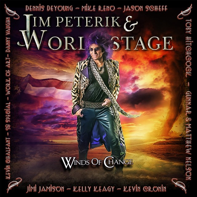 Jim Peterik and World Stage 'Winds of Change' album cover