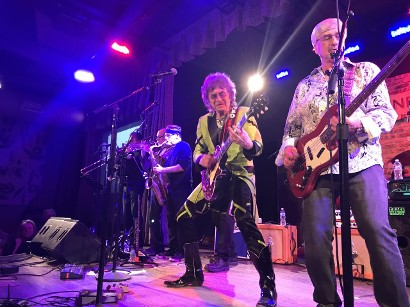 Jim Peterik and The Ides of March perform at City Winery Chicago March 4 2020 Moresby Press photo