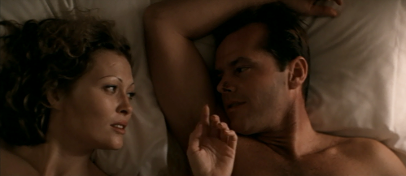 Faye Dunaway and Jack Nicholson in the 1974 movie 'Chinatown'